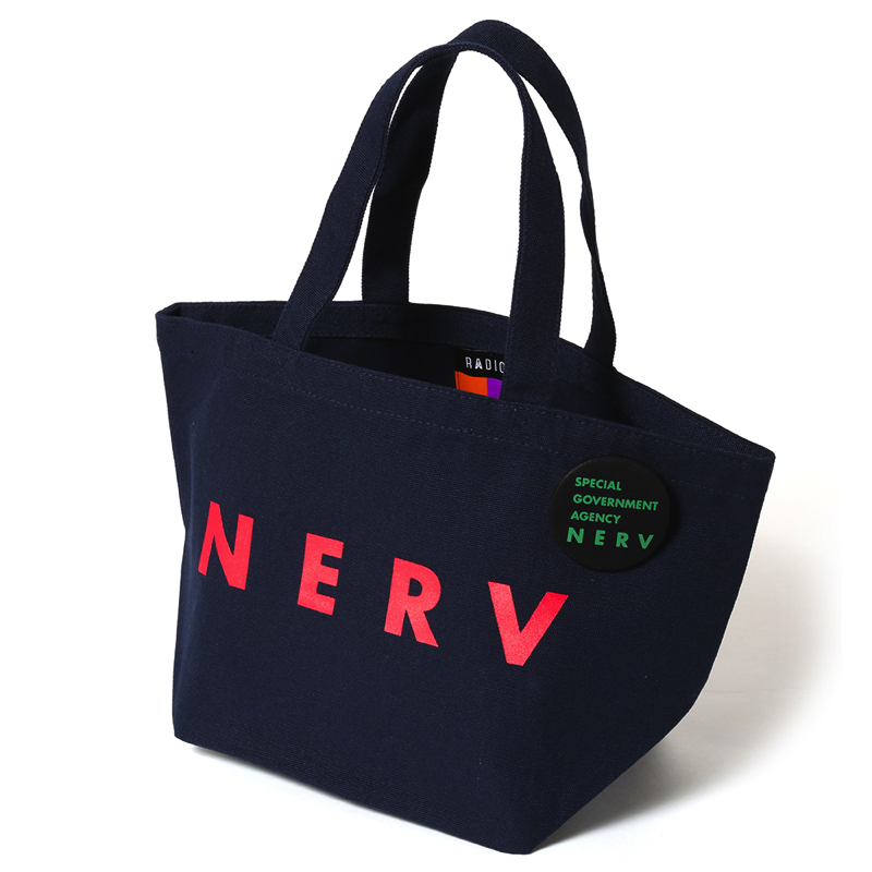 NERV New Lunch Bag (ネイビー×レッド)