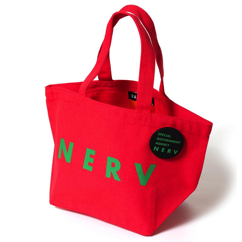 NERV New Lunch Bag (レッド×グリーン)