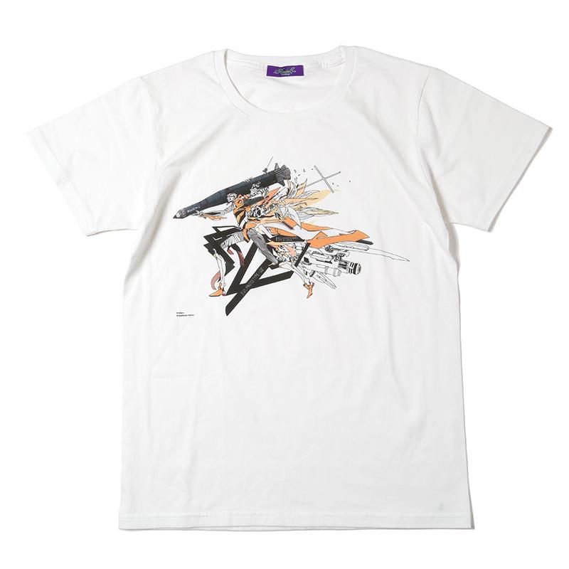 Abstract EVANGELION T-Shirt(KENTA KAKIKAWA) 零号機(ホワイト)
