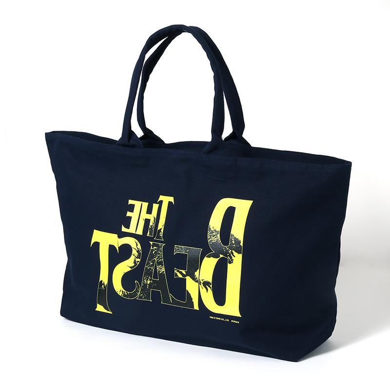 "THE BEAST ""G"" Tote Bag (ネイビー)"