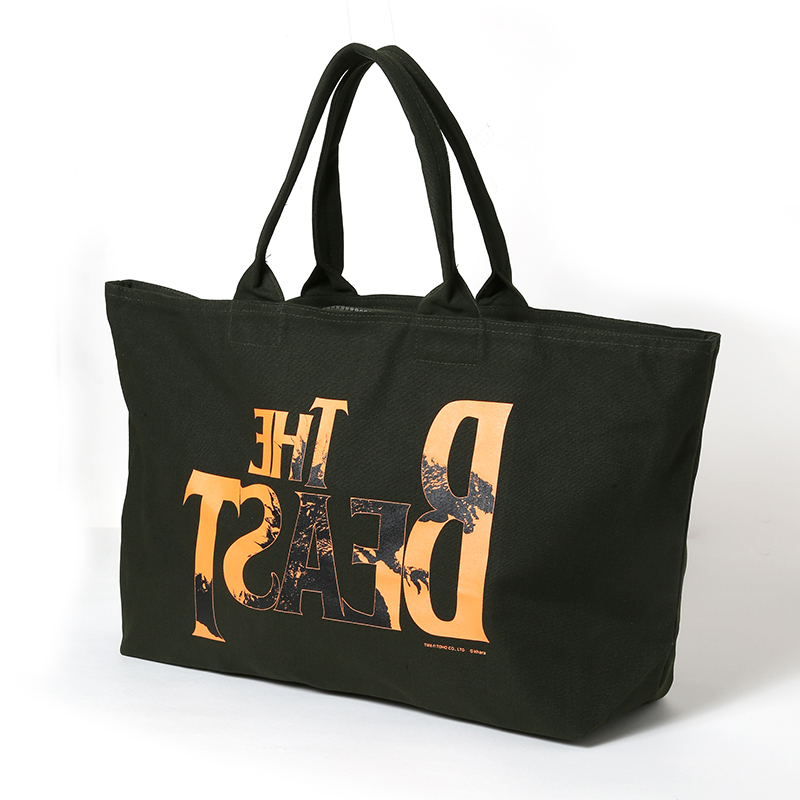 "THE BEAST ""G"" Tote Bag (オリーブ)"