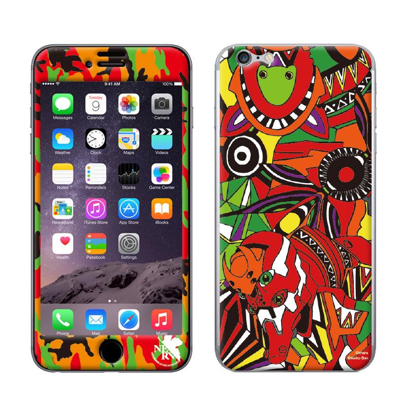 EVANGELION iPhone6/6S PROTECTOR by Gizmobies (EVA-02 MODEL)