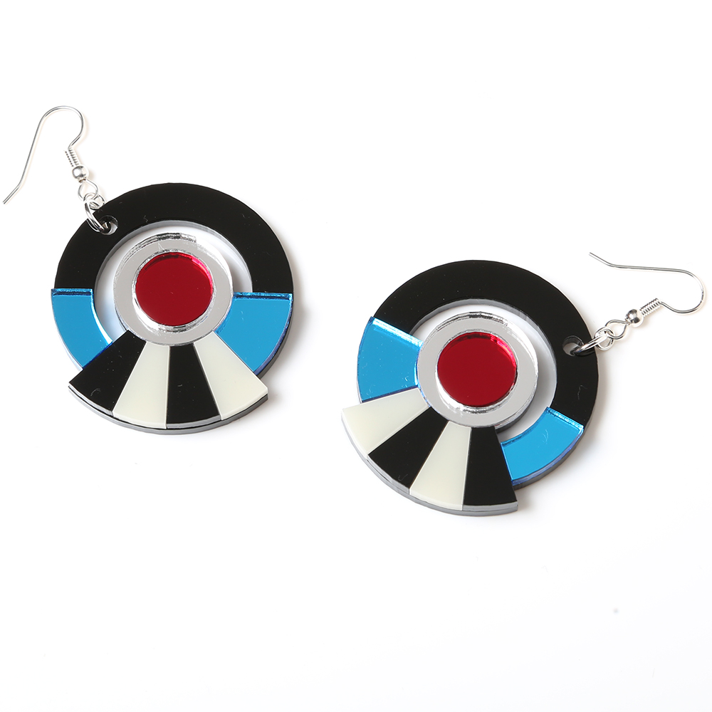 EVANGELION Acrylic Earrings 01 by MYSTIC FORMS (REI)