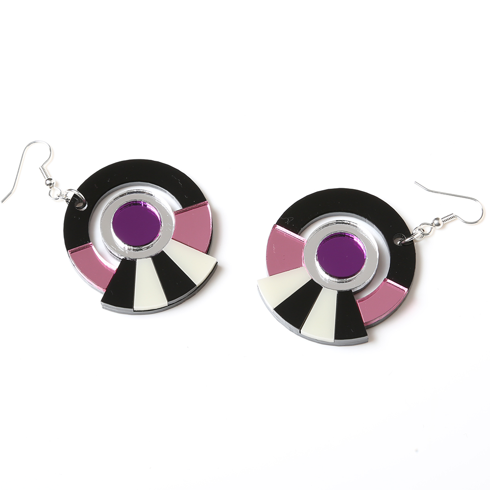 EVANGELION Acrylic Earrings 01 by MYSTIC FORMS (MARI)