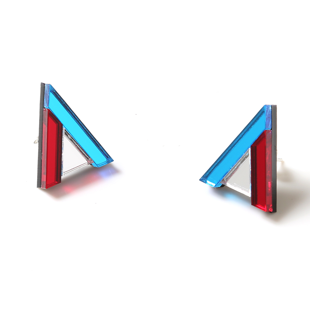 EVANGELION Acrylic Studs Earrings 01 by MYSTIC FORMS (REI)