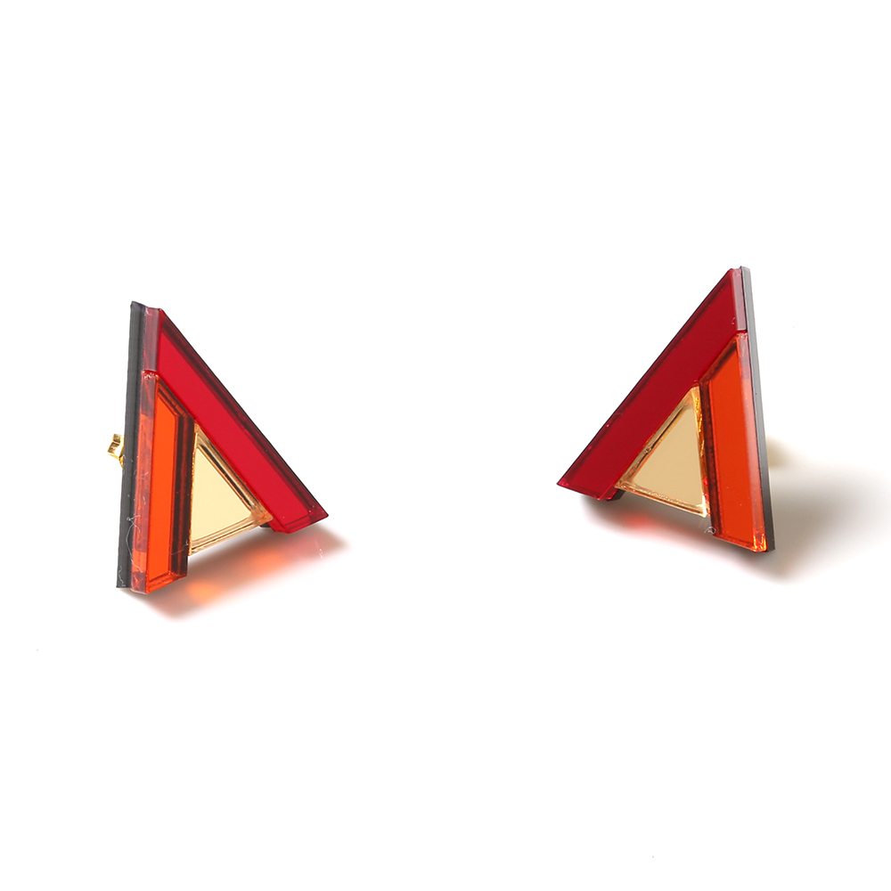 EVANGELION Acrylic Studs Earrings 01 by MYSTIC FORMS (ASUKA)