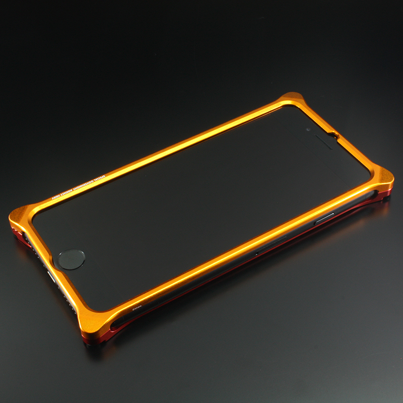 Solid Bumper for iPhone7Plus/8Plus (EVANGELION Limited) (Yellow×Red(2号機))