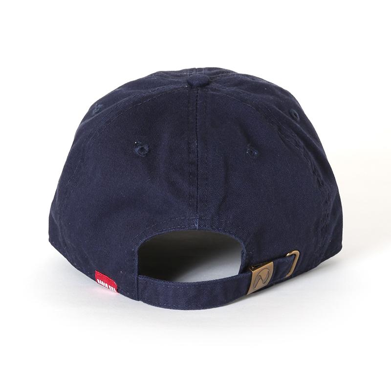 EVANGELION Cotton Washed Cap (ネイビー)