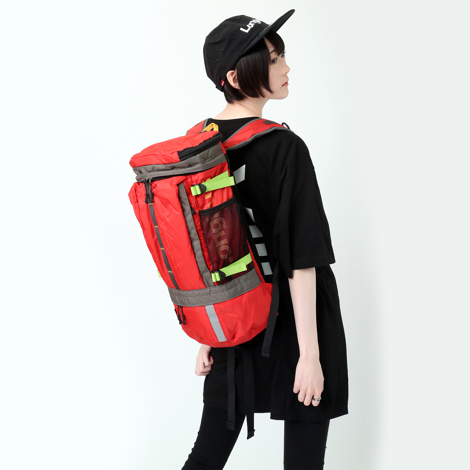 EVANGELION ABOVE ROUND BACK PACK by FIRE FIRST (EVA-02γ MDOEL)
