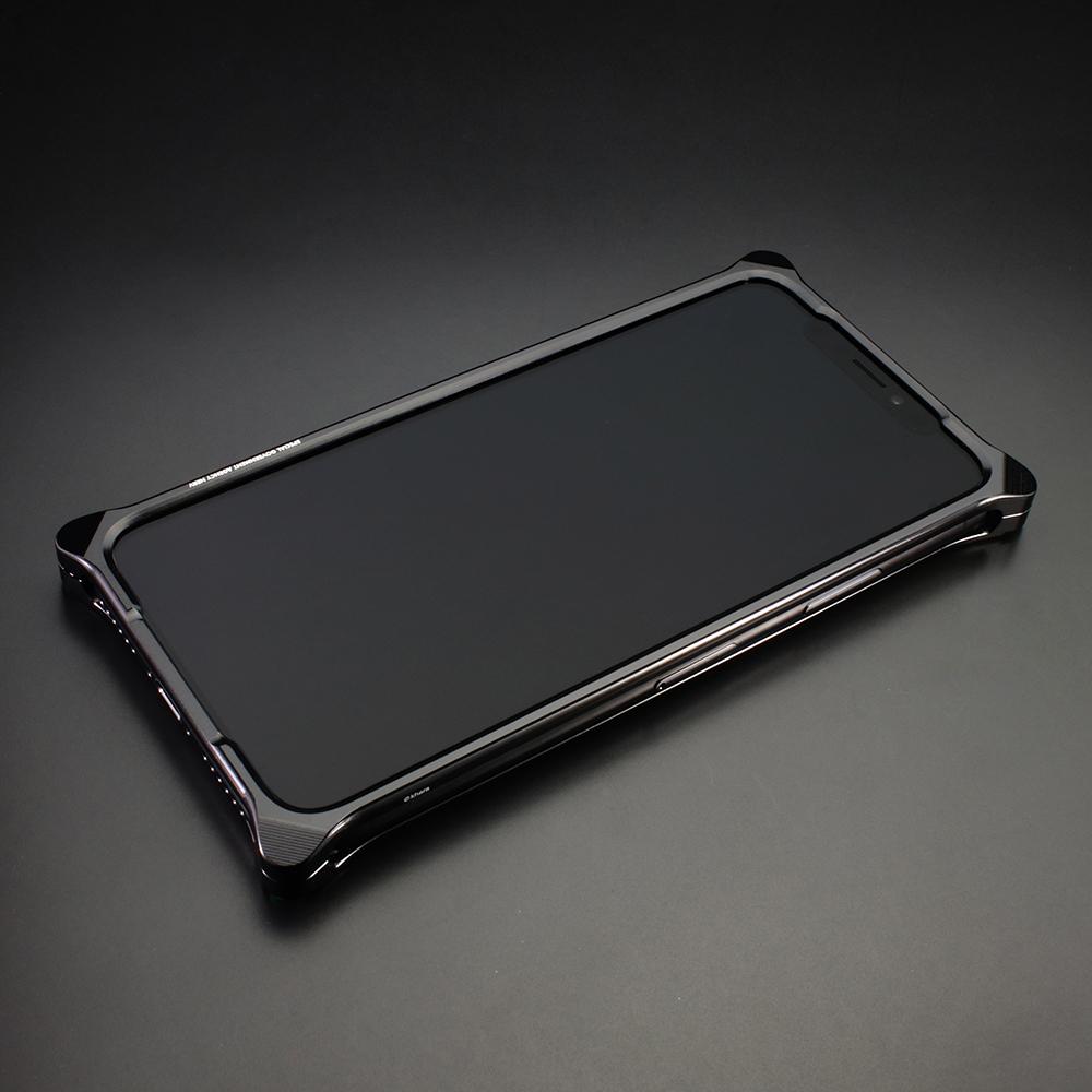 Solid Bumper for iPhone12/12pro (RADIO EVA Limited) (Polished Black(初号機))