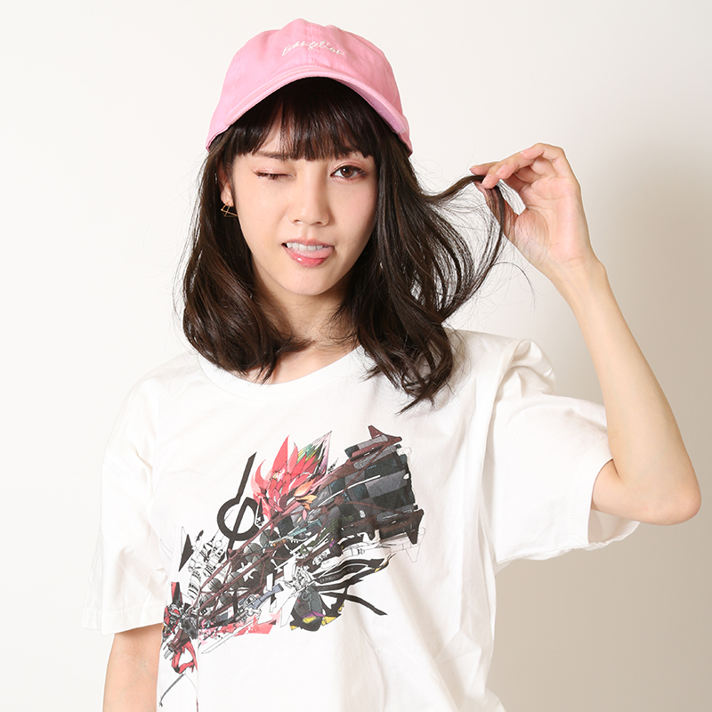 EVANGELION Cotton Washed Cap (ライトピンク)