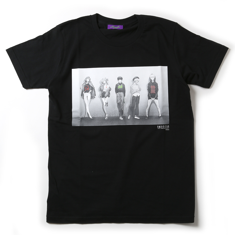 RADIO EVA 10TH ANNIVERSARY T-Shirt (ブラック)