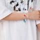 EVANGELION Charm Thin Bracelet (REI)