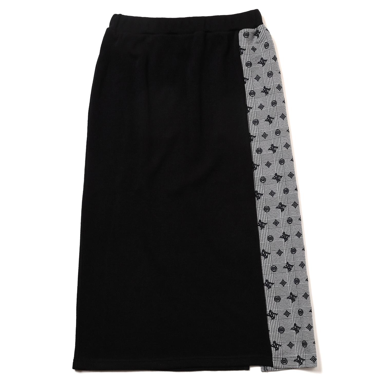 Check on EVA Monogram Skirt (BLACK)