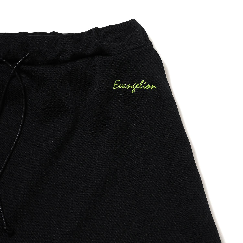 EVANGELION LINE SKIRT (BLACK×BLACK)