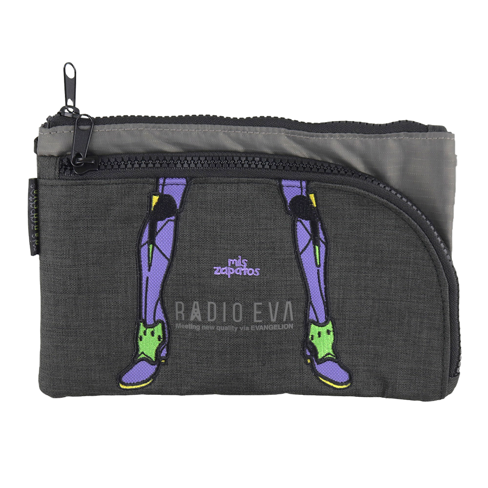 EVANGELION Pouch Shoulder by mis zapatos (BLACK(初号機))