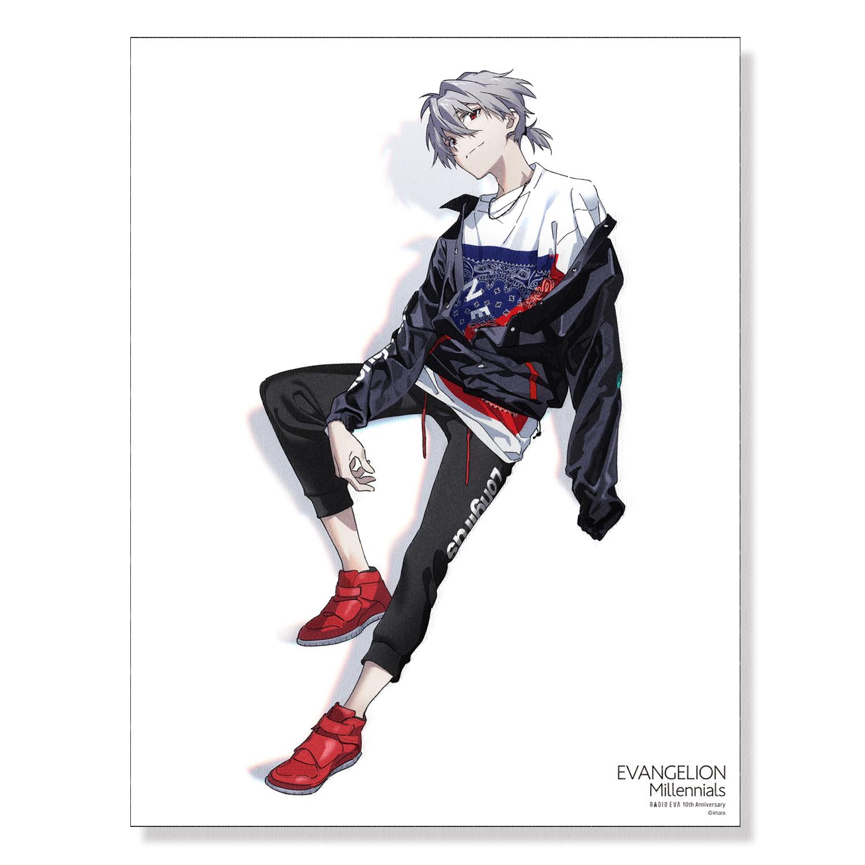 EVA Canvas Art (illustration)カヲル(EVANGELION Millennials)