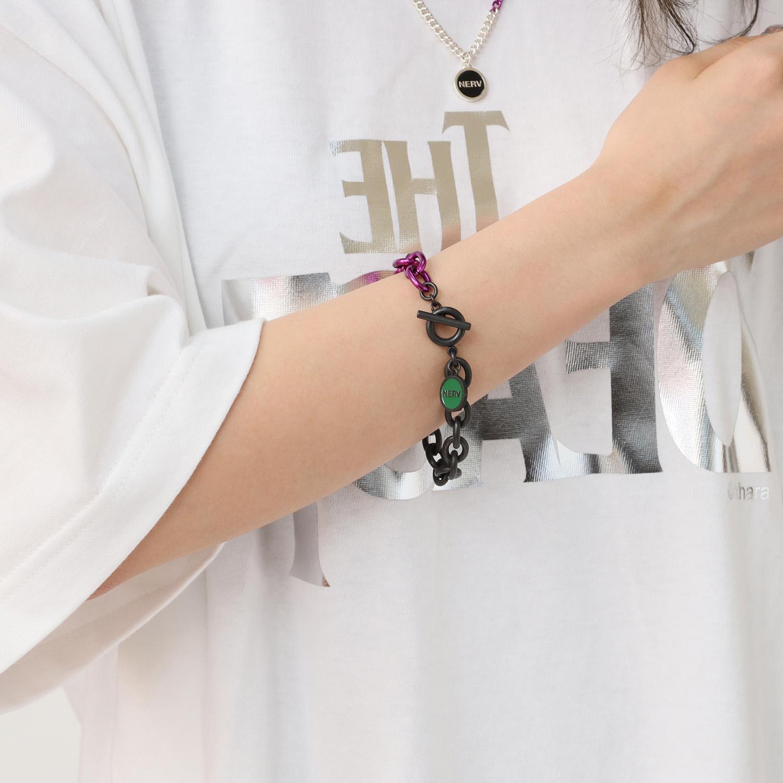 EVANGELION Charm Bracelet (EVA-01)