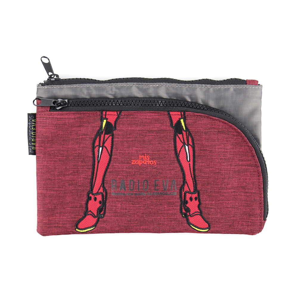 EVANGELION Pouch Shoulder by mis zapatos (RED(2号機))