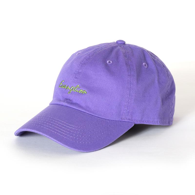 EVANGELION Cotton Washed Cap (パープル)