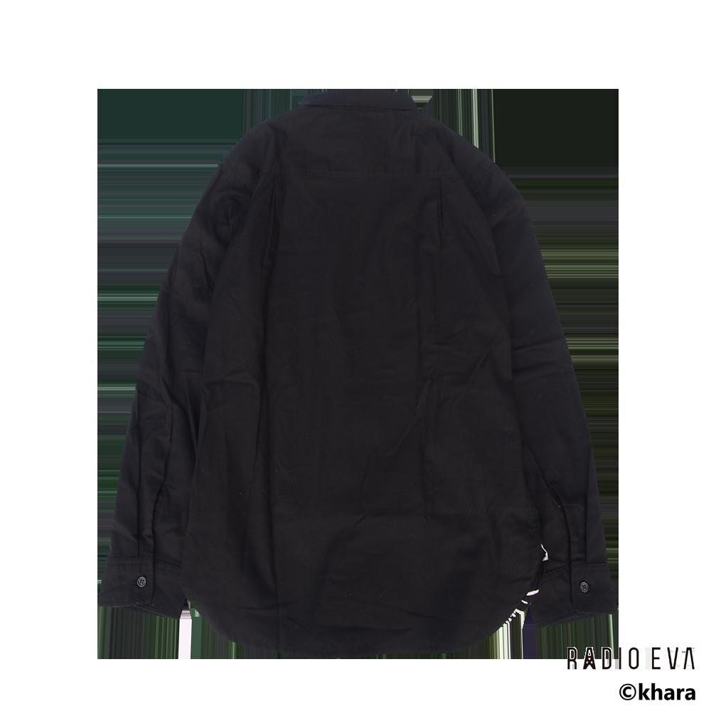 Unit-01 PRINT SHIRTS (BLACK)