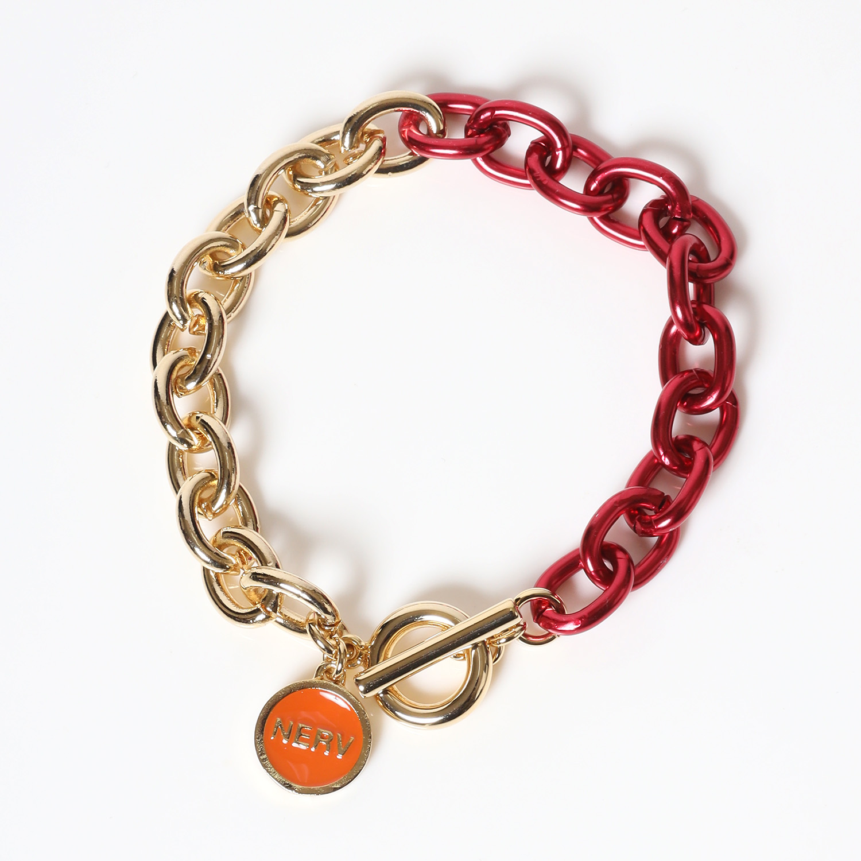 EVANGELION Charm Bracelet (ASUKA)