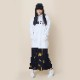 EVA-01 Flower Embroidery Parka (WHITE)