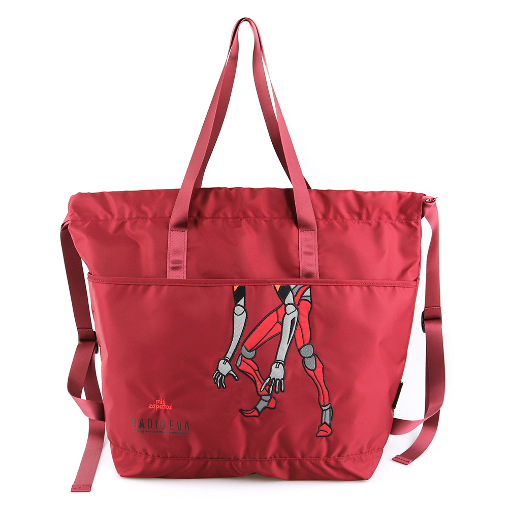 EVANGELION 2way Tote Ruck Sack by mis zapatos (REDK(2号機))
