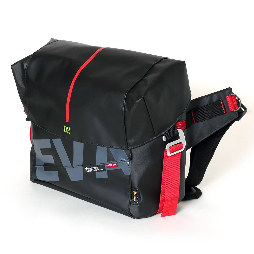 EVANGELION PENTAGON WAIST BAG by FIRE FIRST (EVA-02 MDOEL)