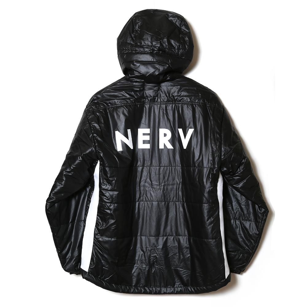 NERV LINE PUFF JACKET (ブラック)