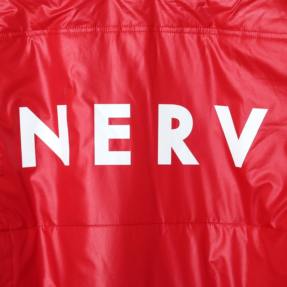 NERV LINE PUFF JACKET (レッド)