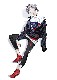 EVANGELION XIII Nylon Jacket (ネイビー)