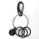 NERV Wire Key Ring (EVA-01)