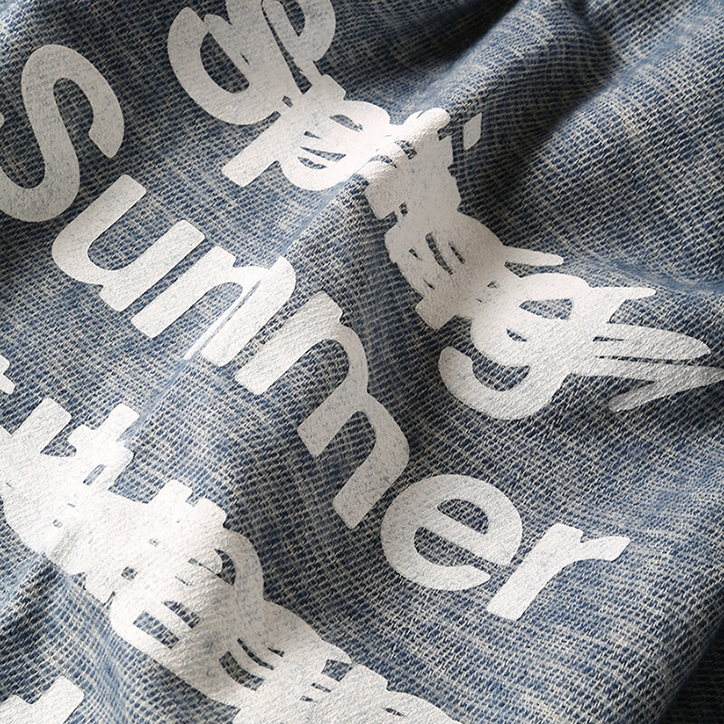 NEW ONLY SUMMER PANEL STOLE (アイボリー)