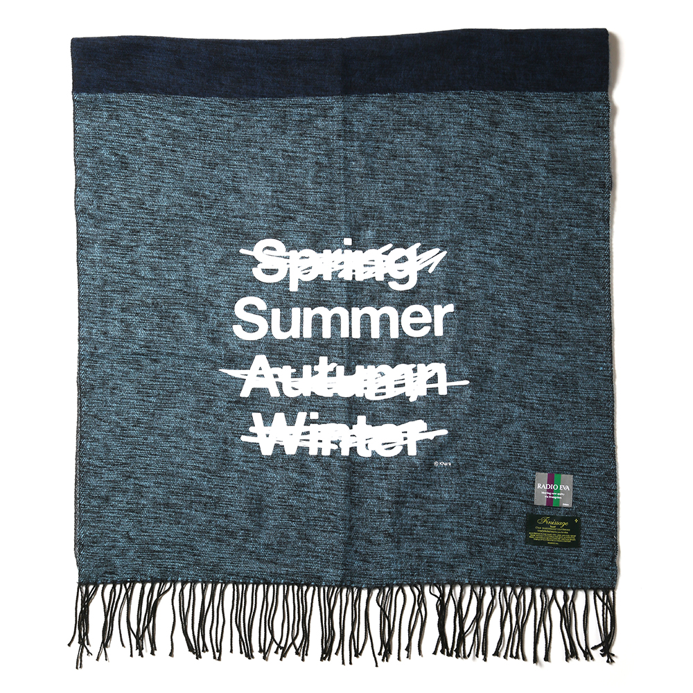 NEW ONLY SUMMER PANEL STOLE (ネイビー)