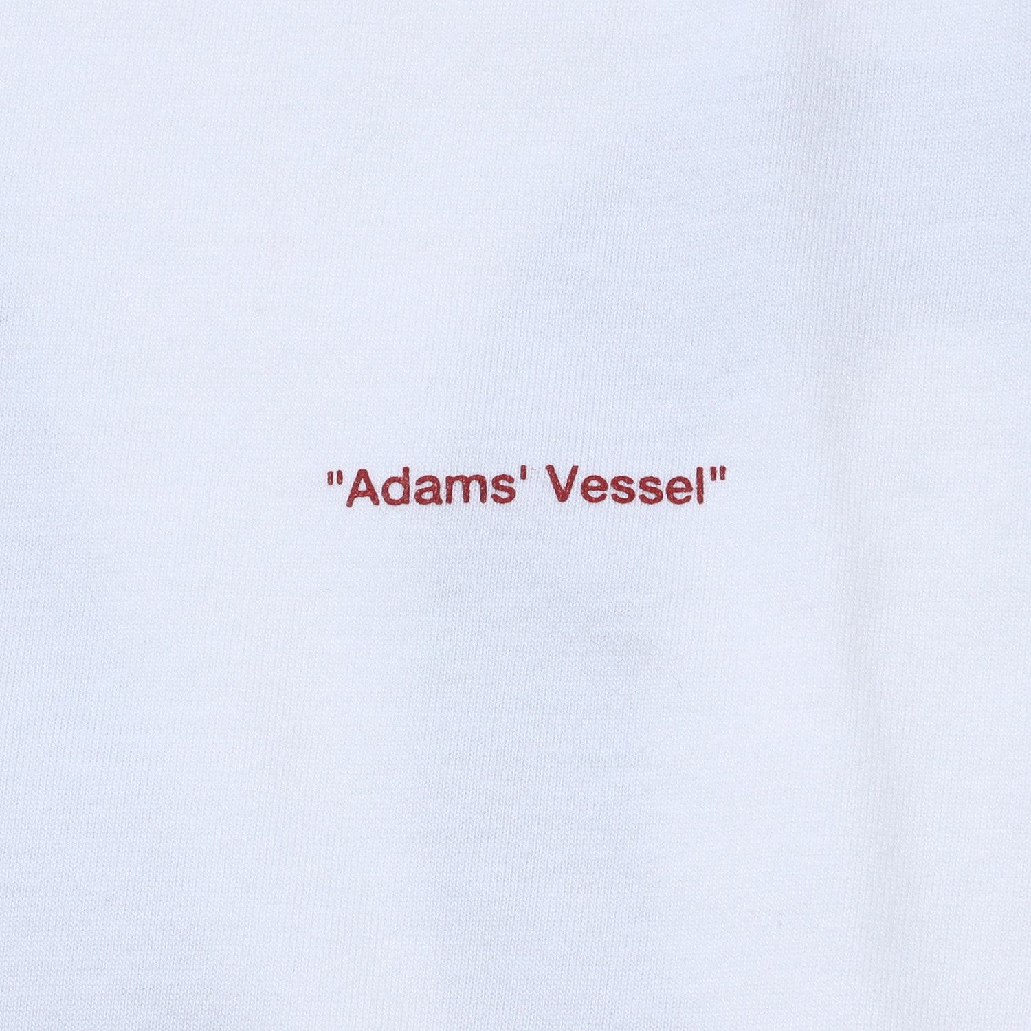 ADAMS T-Shirt (WHITE)