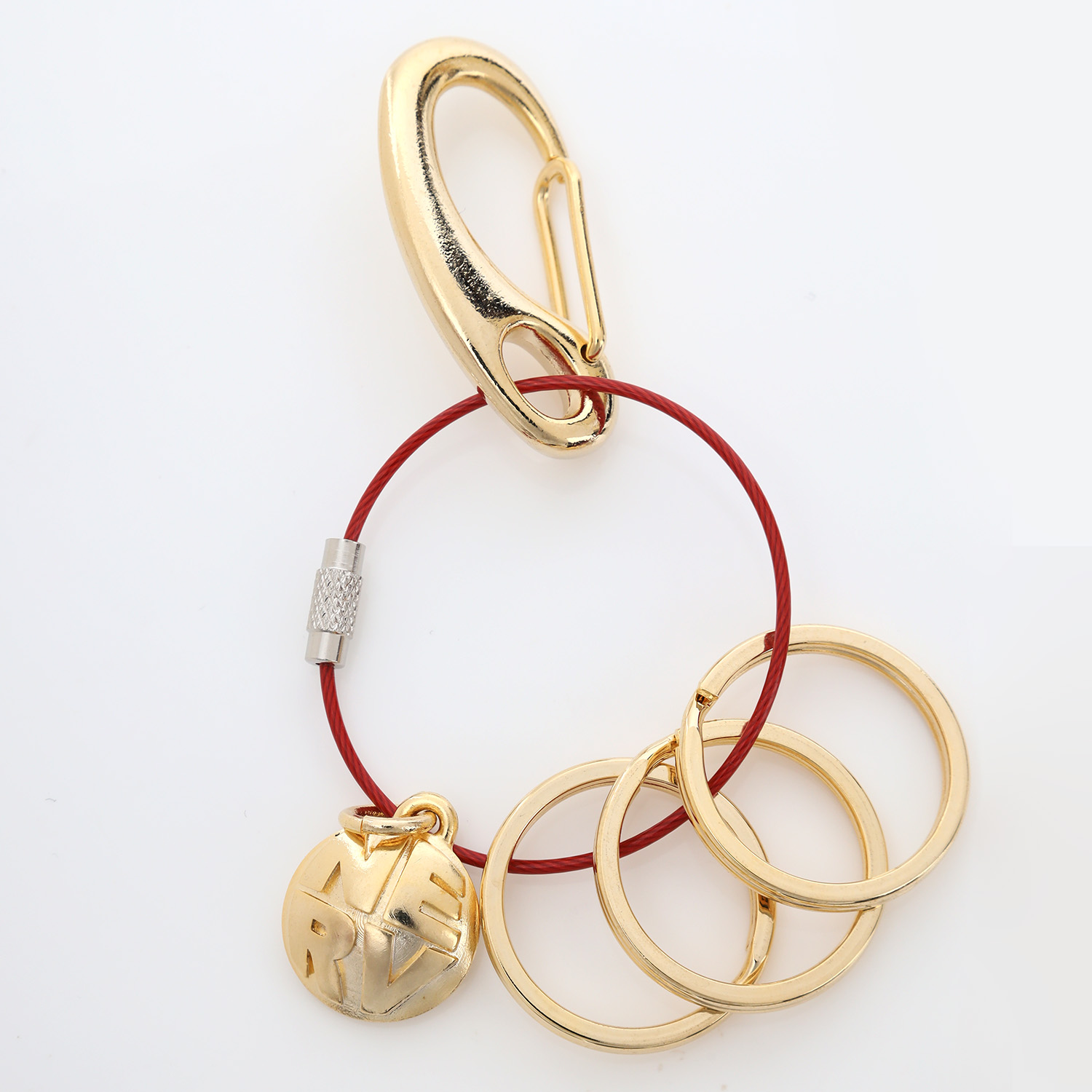 NERV Wire Key Ring (ASUKA)