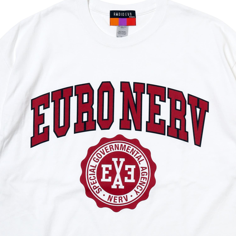 EURO NERV COLLEGE T-Shirt (WHITE)