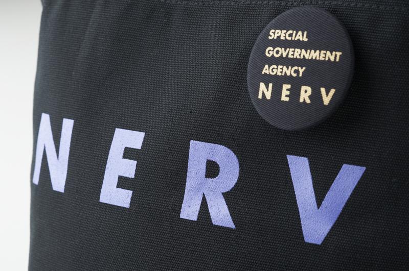 NERV Lunch Bag (ブラック×パープル)