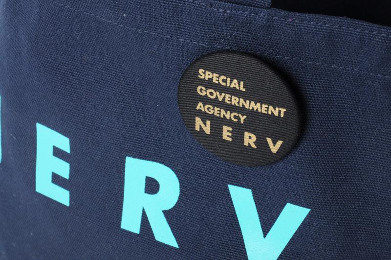 NERV Lunch Bag (ネイビー×ブルー)