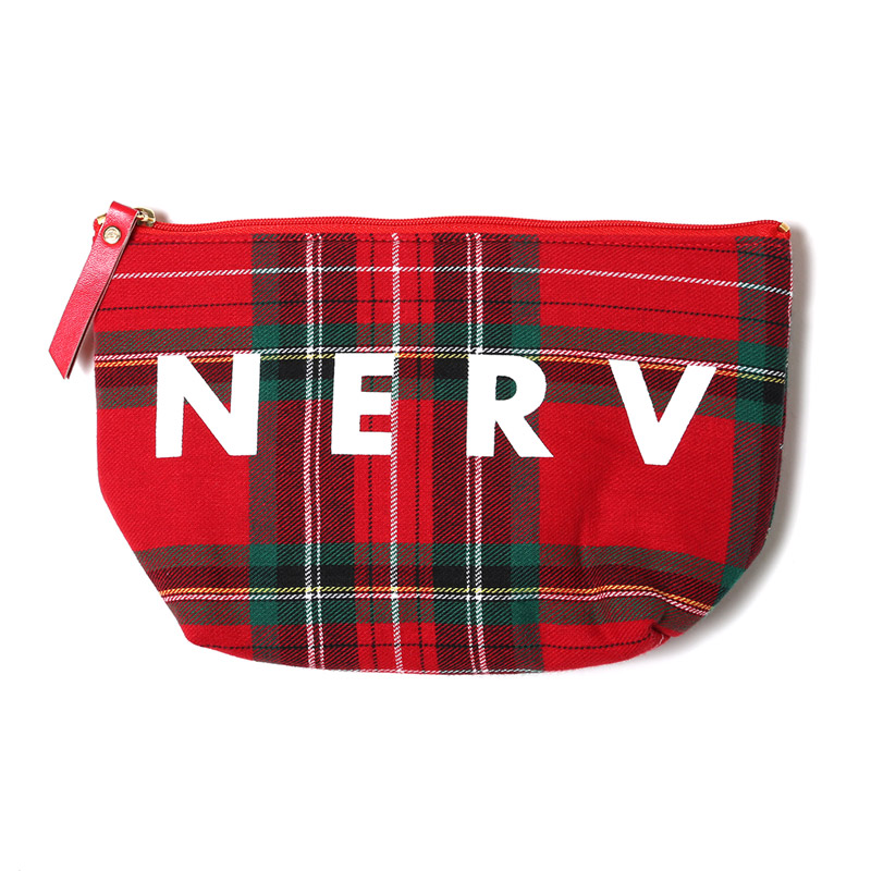 EVA BALLARD POUCH (RED-CHECK)