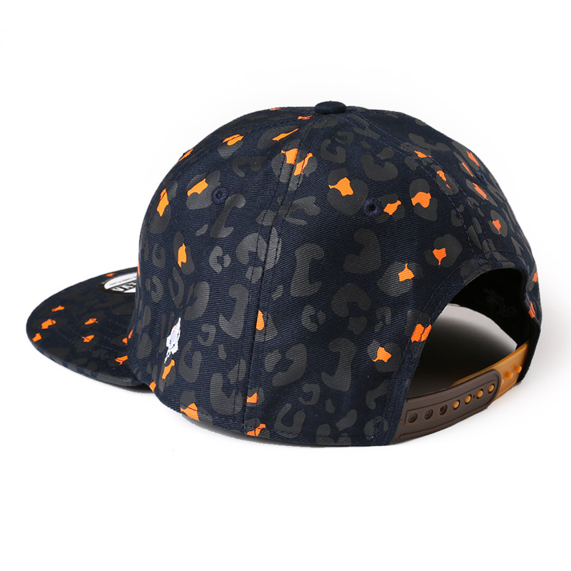 Neo EVA Leopard Cap (ネイビー)