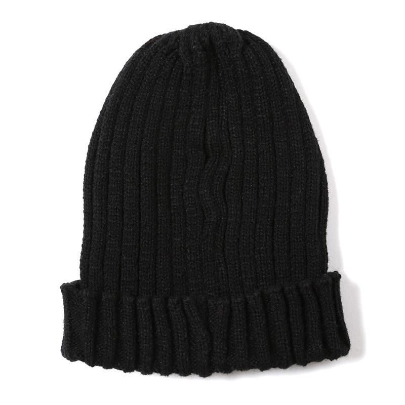 EVA Rib Knit Cap (ブラック)