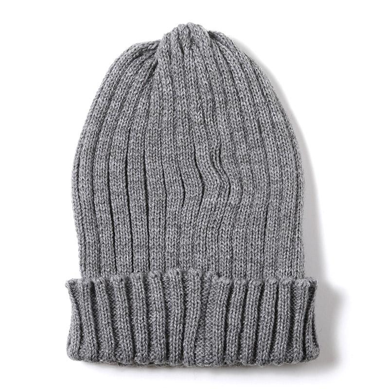 EVA Rib Knit Cap (グレー)