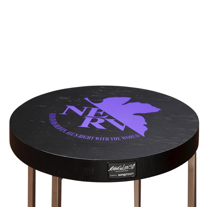 EVANGELION Side Table (パープル)