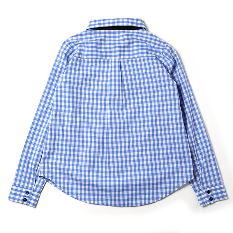 ギンガムチェックシャツ  (碇シンジモデル)