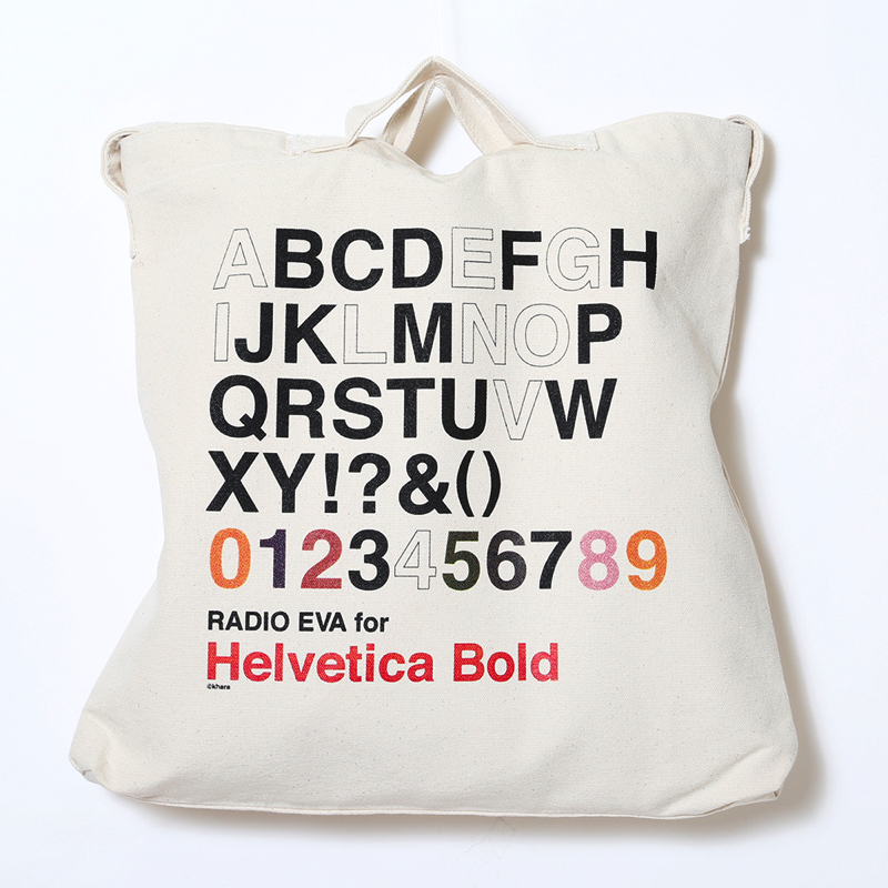 EVANGELION Helvetica 2Way Tote Bag