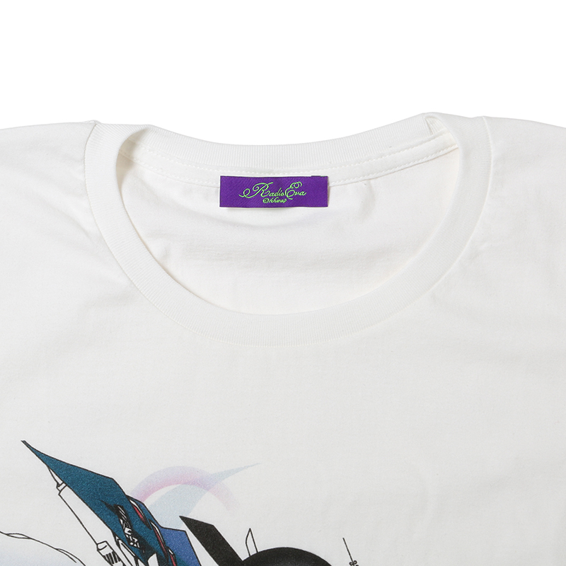 Abstract EVANGELION T-Shirt(KENTA KAKIKAWA) Mark.06(ホワイト)