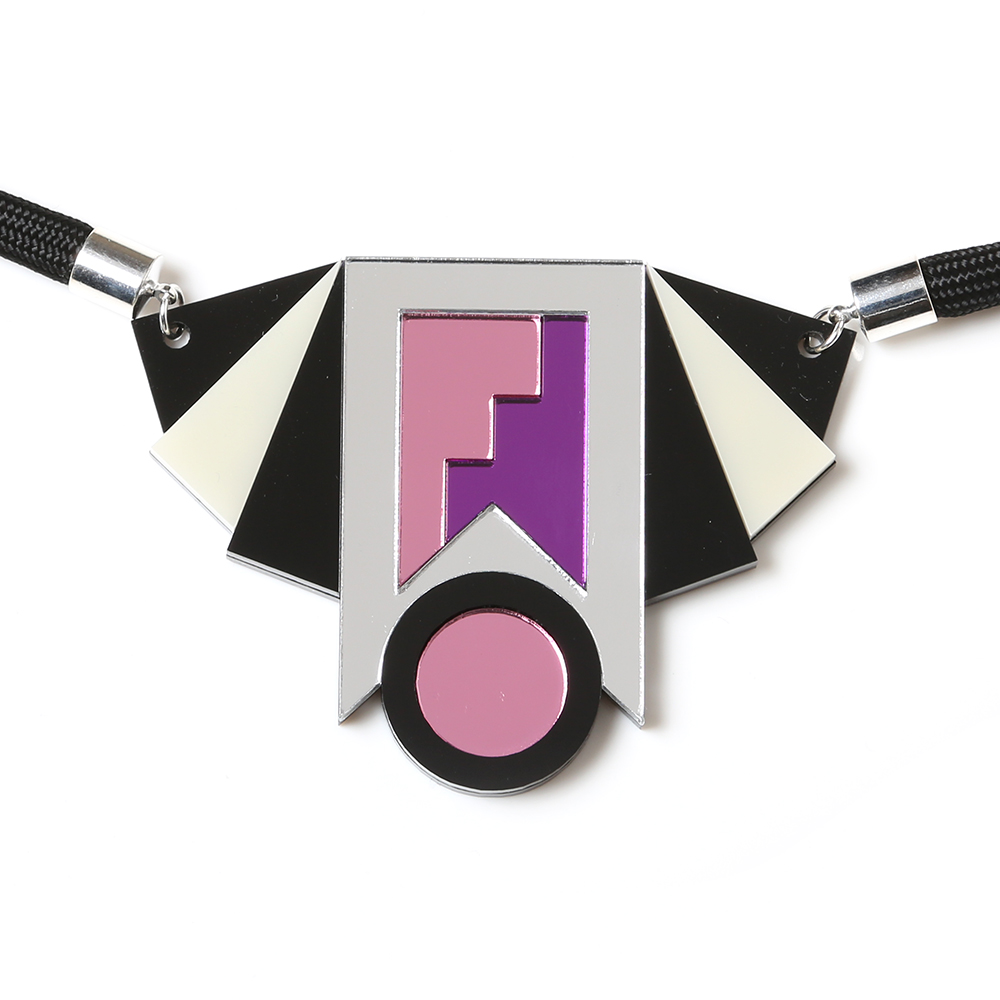 EVANGELION Acrylic Necklace by MYSTIC FORMS (MARI)