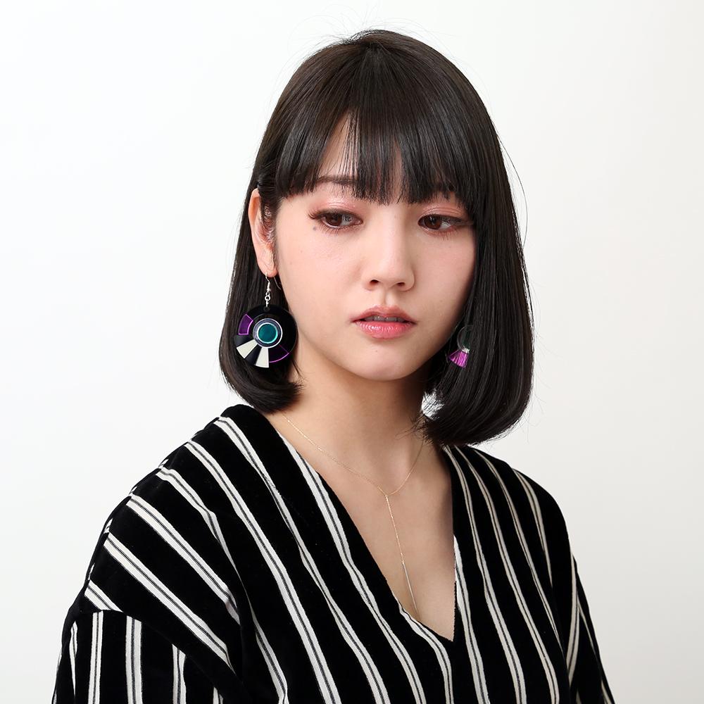 EVANGELION Acrylic Earrings 01 by MYSTIC FORMS (MARI)